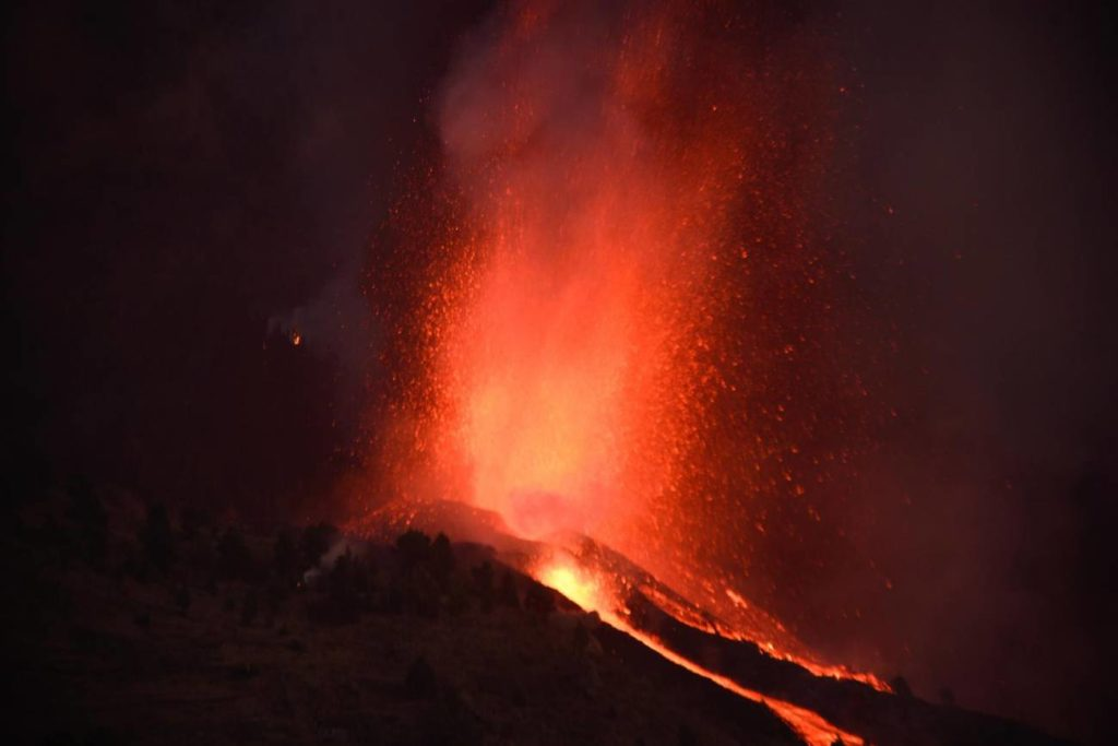consecuencias medioambientales del volcán de La Palma